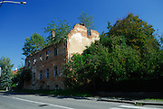 Abandoned building damaged during 1991 -- 1995 war. Petrinja, Croatia