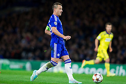 John Terry of Chelsea during football match between Chelsea FC and NK Maribor, SLO in Group G of Group Stage of UEFA Champions League 2014/15, on October 21, 2014 in Stamford Bridge Stadium, London, Great Britain. Photo by Vid Ponikvar / Sportida.com