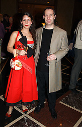 MARK GREGORY and his daughter MISS ANALISA GREGORY at the Tatler Restaurant Awards in association with Champagne Louis Roederer held at the Four Seasons Hotel, Hamilton Place, London W1 on 10th January 2005.<br /><br /><br />NON EXCLUSIVE - WORLD RIGHTS