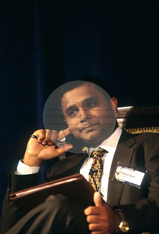 Shikhar Ghosh, communications entrepreneur June 4, 1997 in Washington, DC.