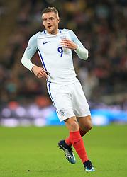 14 November 2017 -  International Friendly - England v Brazil - Jamie Vardy of England - Photo: Marc Atkins/Offside