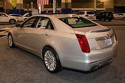 CHARLOTTE, NORTH CAROLINA - NOVEMBER 20, 2014: Cadillac CTS sedan on display during the 2014 Charlotte International Auto Show at the Charlotte Convention Center.