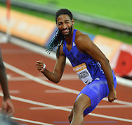 Jason Richardson of USA at the Sainsbury's Anniversary Games at the Queen Elizabeth II Olympic Park, London, United Kingdom on 24 July 2015. Photo by Mark Davies.
