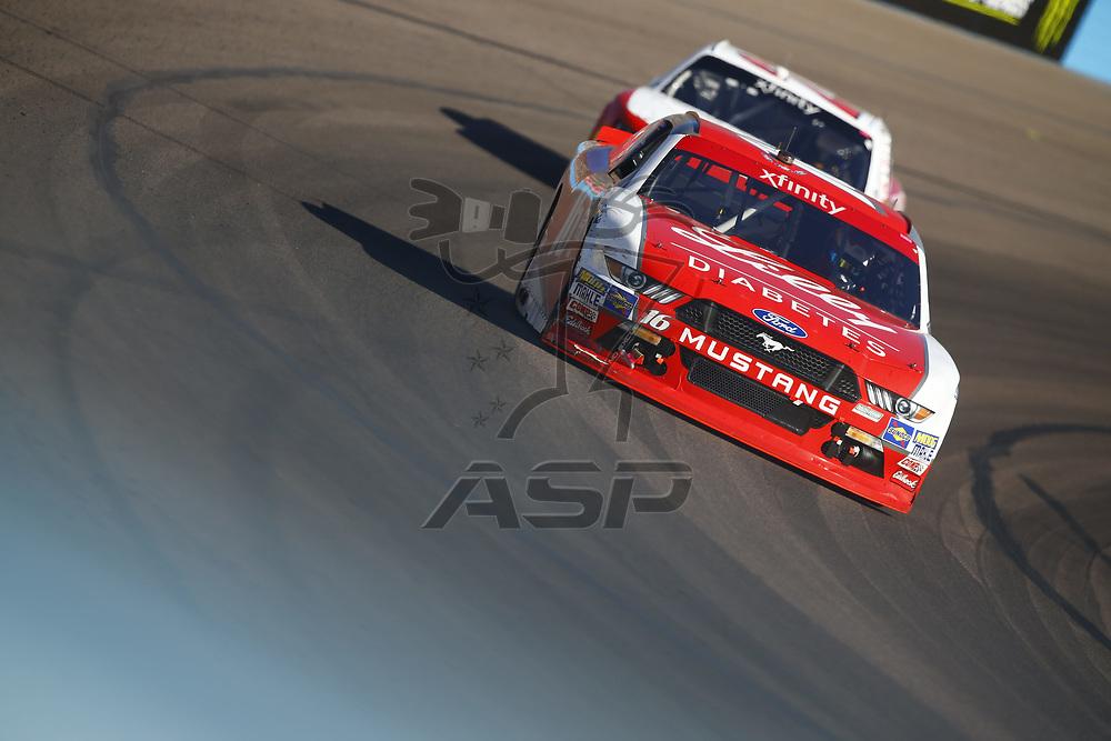 November 11, 2017 - Avondale, Arizona, USA: Ryan Reed (16) brings his car through the turns during the Ticket Galaxy 200 at Phoenix Raceway in Avondale, Arizona.