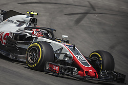 May 11, 2018 - Barcelona, Catalonia, Spain - KEVIN MAGNUSSEN (DAN) drives during the first practice session of the Spanish GP at Circuit de Catalunya in his Haas VF-18 (Credit Image: © Matthias Oesterle via ZUMA Wire)