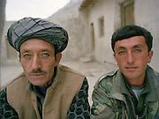 Sardar Khan and Khan Jon (Mookie)..Family relatives of Pir Shah Ismail in Qala-e Pinja.
