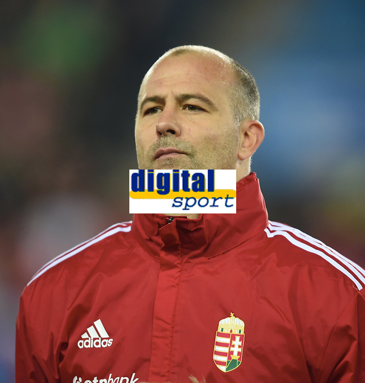 Fotball , 12. november 2014 ,<br /> Play-off , Norge - Ungarn<br /> EURO 2016 - Qualification: play-off<br /> Norway - Hungary 0-1<br /> Gabor Kiraly 1