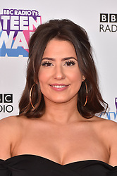 Jasmine Armfield attending the BBC Radio 1 Teen Wards, at Wembley Arena, London. Picture date: Sunday October 22nd, 2017. Photo credit should read: Matt Crossick/ EMPICS Entertainment.