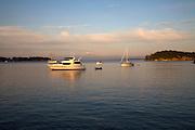Echo Bay, Sucia Island, San Juan Islands, Washington State<br />