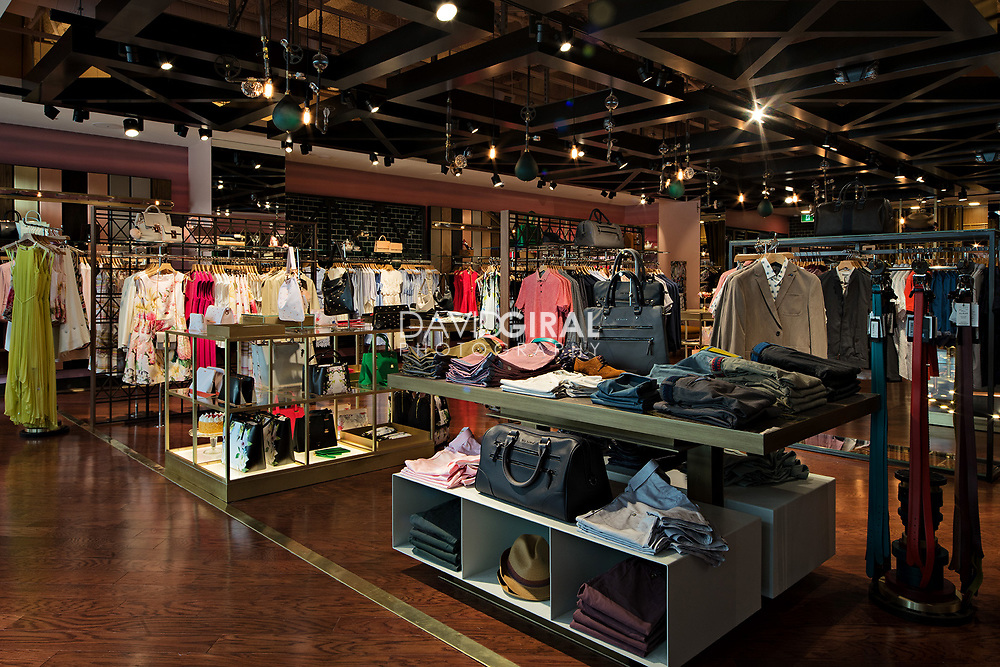 Commercial Retail Architecture & Interiors Photography - Ted Baker Store - Ottawa