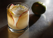 Cocktail with mezcal. (Sy Bean / The Seattle Times)