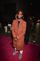 Tinie Tempah at the Maybelline New York Bring on The Night party hosted by Adriana Lima & Jourdan Dunn at Scotch of St.James, 13 Masons Yard, England. 18 February 2017.