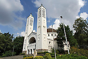Nederland, Heiliglandstichting, 14-9-2012De Cenakelkerk staat naast het museumpark,openluchtmuseum orientalis, en heeft een karakteristieke bouwstijl met koepel.Foto: Flip Franssen