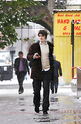 © under license to London News Pictures. 2/12/10 Pete Doherty attends Bow magistrates court on charges of cocaine possession. He was questioned by detectives investigating the suspected overdose death of heiress Robin Whitehead. Two of his friends also appeared on charges of cocaine possesion. Photo credit should read: Olivia Harris/ London News Pictures