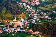 Yagodina village in Rhodope Mountains in summer