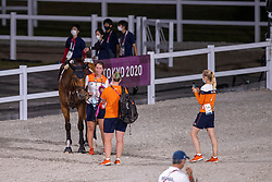 Groom and Beauville Z, 373<br /> Olympic Games Tokyo 2021<br /> © Hippo Foto - Dirk Caremans<br /> 04/08/2021