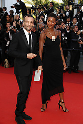 Mathieu Kassovitz and girlfriend Aude attends the 70th Anniversary of the 70th annual Cannes Film Festival at Palais des Festivals on May 23, 2017 in Cannes, France. Photo by Shootpix/ABACAPRESS.COM