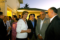 Yeda Crusius, oferece na sua residência, jantar de recepção as lideranças nacionais do PSDB que visitam o Rio Grande do Sul nesta segunda-feira, 21 de janeiro 2008. FOTO: Jefferson Bernardes / Preview.com