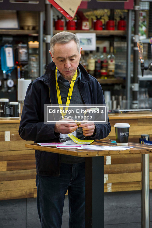 Pictured: Where real politics takes place - in the cafes and bars around the conference hall<br /> The members of the SNP gathered in the Scottish Events Centre in Glasgow for their annual conference.<br /> <br /> The Ger Harley | EEm 9 October 2017
