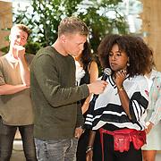NLD/Utrecht/20190814 - Bekendmaking 6 deelnemers Expeditie Robinson 2019, Kaj Gorgels en Eva Cleven