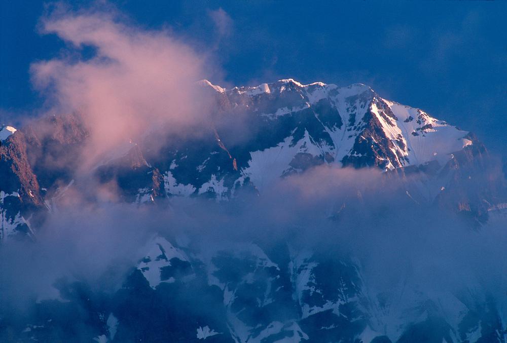 Mount Tsurungala, 4220 metres above the sea level, Caucasus Mountains, Svaneti Region, The Country of Georgia