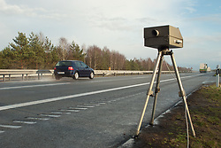 Dec. 05, 2012 - Speed limit enforcement on German motorway (Credit Image: © Image Source/ZUMAPRESS.com)
