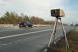 Dec. 05, 2012 - Speed limit enforcement on German motorway (Credit Image: © Image Source/ZUMAPRESS.com)