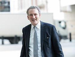 © Licensed to London News Pictures. 18/02/2018. London, UK. Damian Hinds MP, Education Secretary arrives at BBC Broadcasting House to appear on the Andrew Marr Show. Photo credit: Vickie Flores/LNP