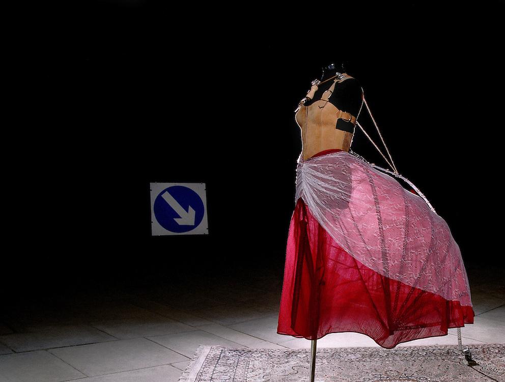 Conceptual Art Installation of A Dress