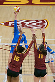 Volleyball-NCAA Women-UCLA at Southern California-Nov 29, 2019