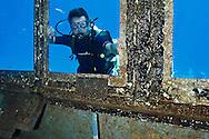Steven Smeltzer, Pilot House, USS Kittiwake, Grand Cayman