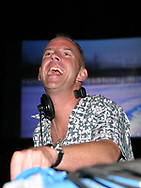 Fatboy Slim, Norman Cook at the Glastonbury Festival, Somerset, Britain - 27 June 2003.