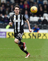 St Mirren's Liam Smith in action during the Ladbrokes Scottish Championship match at the Paisley 2021 Stadium.