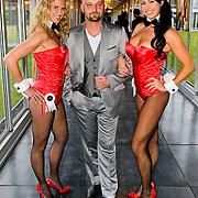 NLD/Zaandam/20100503 - Bekendmaking Playmate of the Year 2009, Sidney Brandeis met 2 playmates