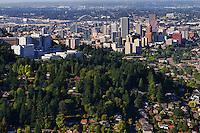 Southern View of Portland Skyline