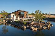 Saffron Fields Vineyard tasting room, Yamhill, Willamette Valley, Oregon