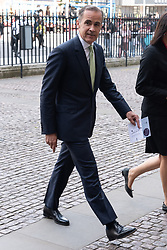 © Licensed to London News Pictures. 15/06/2018. London, UK. Bank of England Governor Mark Carney attends the memorial service for Professor Stephen Hawkin at Westminster Abbey. Photo credit: Ray Tang/LNP