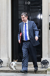Downing Street, London, November 15th 2016.  Chief Secretary to the Treasury David Gauke leaves Downing Street following the weekly cabinet meeting.