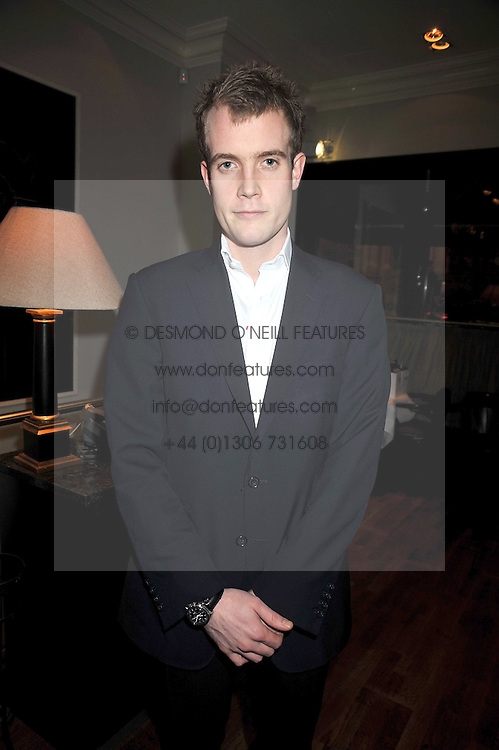 FRANCOIS O'NEILL at the opening of the Brompton Bar & Grill, 243 Brompton Road, London SW3 on 11th March 2009.