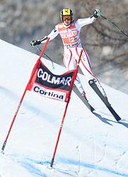23.01.2011, Tofana, Cortina d Ampezzo, ITA, FIS World Cup Ski Alpin, Lady, Cortina, SuperG, im Bild Nicole Hosp (AUT, #23) // Nicole Hosp (AUT) during FIS Ski Worldcup ladies SuperG at pista Tofana in Cortina d Ampezzo, Italy on 23/1/2011. EXPA Pictures © 2011, PhotoCredit: EXPA/ J. Groder