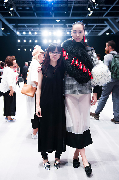 Award Ceremony during the Visceral Instinct show by Raffles Hong Kong as part of the Fashion Week for Spring / Summer 2015 at the Hong Kong Convenition and Exhibition Centre on 08 July 2015 in Hong Kong, China. Photo by Moses NG / illume visuals