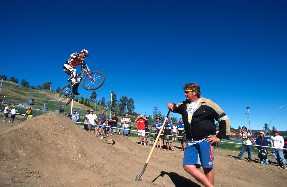 UCI mtb world cup downhill, Big Bear, USA 1998