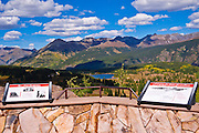 Molas Pass viewpoint, San Juan Skyway (Highway 550), San Juan National Forest, Colorado