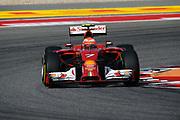 November 2, 2014: United States Grand Prix. Kimi Raikkonen (FIN), Ferrari