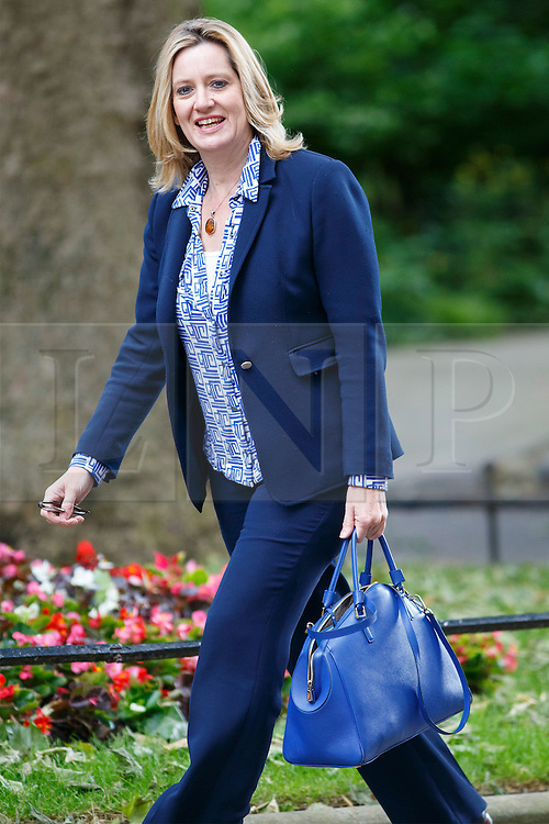 © Licensed to London News Pictures. 09/06/2015. Westminster, UK. Climate Change Secretary AMBER RUDD attending to a cabinet meeting in Downing Street on Tuesday, 9 June 2015. Photo credit: Tolga Akmen/LNP