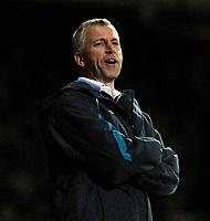 Photo: Alan Crowhurst.<br />West Ham United v Wigan Athletic. The Barclays Premiership. 06/12/2006. West Ham coach Alan Pardew.