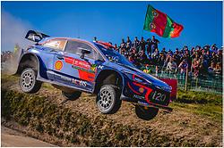 May 20, 2018 - Portugal - Dani Sordo (ESP) Ð Carlos Del Barrio (ESP) - Hyundai i20 WRC (Credit Image: © Panoramic via ZUMA Press)