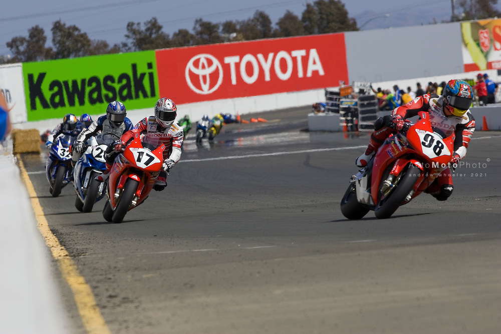 Round 4 of the 2007 AMA Superbike Championship at Infineon Raceway (Sears Point), Sonoma, CA, May 18 - May 20, 2007.<br /> <br /> ::Images shown are not post processed::Contact me for the full size file and required file format (tif/jpeg/psd etc) <br /> <br /> ::For anything other than editorial usage, releases are the responsibility of the end user and documentation/proof will be required prior to file delivery.