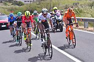 Daniel TEKLEHAIMANOT (ERI), Marcin BIALOBLOCKI (POL), Eugert ZHUPA (ALB), Cesare BENEDETTI (ITA), Pavel BRUTT (RUS), Mirco MAESTRI (ITA), during the 100th Tour of Italy 2017, Giro d'Italia, Stage 1, Alghero - Olbia (206km), on May 5, in Sardegna, Italy - Photo Tim De Waele / ProSportsImages / DPPI