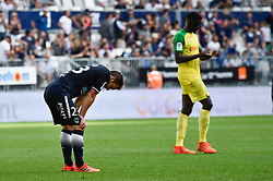 October 15, 2017 - Bordeaux, France - Fin de match Valentin Vada  (Credit Image: © Panoramic via ZUMA Press)